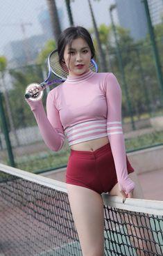Pretty Korean Girls, Cute Asian Girls, Korean Girl Fashion, Asian Fashion, Girls In Leggings, Beautiful Asian Women, Sport Girl, Leggings Fashion, Fashion Clothes