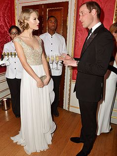 Taylor Swift Performs for Royalty – and Meets Prince William
