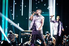 Il duetto dei Soul System con Giusy Ferreri e Baby  durante la finale di X Factor 10