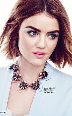 mark. Brand Ambassador #LucyHale wearing mark.'s Free & Clear Necklace #jewelry  @lucyyhale