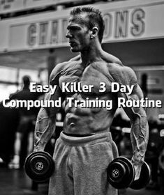 All fitness strugglers are probably well aware that compound movements are the straightest and quickest route to building muscle mass. Compound movements can easily be defined as heavy movements that require multiple joint workouts and
