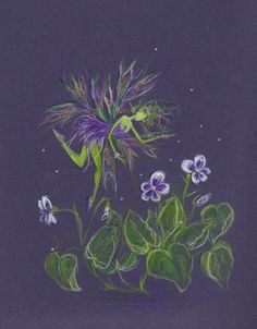 Counting Violets.....New Varieties Welcome by DawnFairies on Etsy