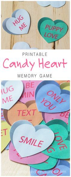 A super-fun way for your kiddos to build memory skills, learn patterns and just have fun! Just in time for Valentine's Day! Free printable game!