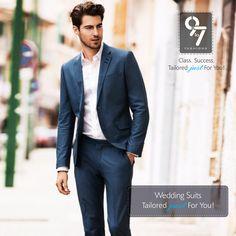 Wedding Suits Tailored just For You! Men's Customized Clothes - #Menswear, #Ethnicwear & #WeddingWear. Call: 8080 927 927 #Weddings #Formalwear #Mumbai #chembur visit us http://www.9to7fashions.com/