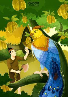 Truyện Cổ Tích Ăn Khế Trả Vàng/Fairy tale book cover