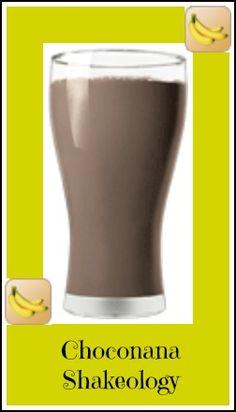 Choconana Shakeology Recipe. A delicious blend of banana and chocolate. Get your Shakeology for your recipe here: http://santofitlife.com/shakeology/