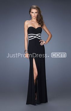 US $129.99 2014 Simple Yet Elegant Floor-length Sweetheart Sheath/Column Chiffon Prom Dresses