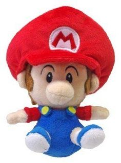 Plush Baby Mario by Nintendo
