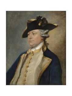 size: Giclee Print: Portrait of Augustus Hervey, Earl of Bristol by Gainsborough Dupont : Royal Navy Officer, Navy Uniforms, Disco Fashion, Old Paintings, Military History, Oil Painting On Canvas, Bristol, 18th Century, Giclee Print