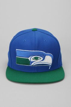 Mitchell & Ness Seahawks Snapback Hat