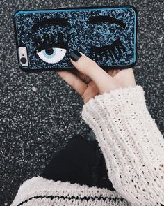"""Chiara Ferragni flirting eye iPhone 6 cases just arrived in many different colors! #newin #chiaraferragnicollection #glittercase"""