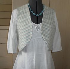 Reduced! Ladies Reversible Waistcoat, Sleeveless Jacket, Vest, Bolero £20.00