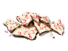 Almost-Famous Peppermint Bark Recipe : Food Network Kitchen : Food Network Best Christmas Recipes, Christmas Goodies, Christmas Candy, Christmas Desserts, Christmas Treats, Holiday Treats, Holiday Recipes, Holiday Fun, Christmas Time