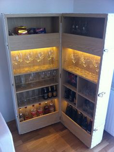 Trunk Bar IKEA Hackers| Clever ideas and hacks for your IKEA