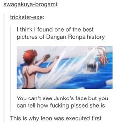 Dangan Ronpa tag on tumblr