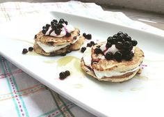 Cooking Bakery | Gesunde Pancakes mit Heidelbeeren Pancakes, Breakfast, Desserts, Food, Healthy Nutrition, Health, Food Food, Backen, Morning Coffee