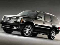 i'm not usually an SUV person, but how nice is a Cadillac Escalade? i'm sorry, but i would LOVE to drive this car!