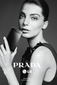 Daria Werbowy by David Sims for Prada LG 3.0 Campaign