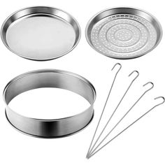 VonShef Halogen Oven Accessories Extender Ring Steamer Tray Skewers Frying Pan in Home, Furniture & DIY, Appliances, Small Kitchen Appliances | eBay