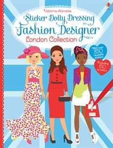 London is one of the great fashion capitals of the world, and this book, with over 350 stickers - including 150 to color yourself - allows young creatives to research, plan and design their own fashion collections, inspired by the city. With hints and tips on how to choose colors, patterns and shapes that work together.