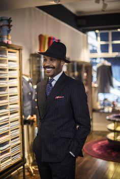 Mr Shaun Gordon, designer for Turnbull & Asser