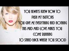 I WISH YOU WOULD by TAYLOR SWIFT NEW SINGLE (LYRICS VIDEO) - YouTube.
