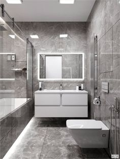 Decor Decor elegant Decor master Decor modern Bathroom Decor Bathroom Decor Монохромный интерьер ванной Are you looking for small bathroom decorating ideas? If consequently you are not alone. Bathroom Tile Designs, Bathroom Layout, Modern Bathroom Design, Bathroom Interior Design, Bathroom Cabinets, Contemporary Bathrooms, Modern Small Bathrooms, Interior Ideas, Toilette Design
