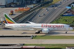#Ethiopian Boeing 787-8 #Dreamliner aircraft picture