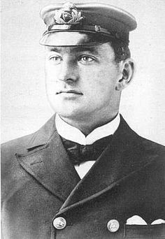 *CHIEF OFFICER HENRY WILDE ~ was off-duty at the time of Titanic's sinking – he was last seen struggling to help with collapsible lifeboats. His body was never recovered. Rms Titanic, Titanic Sinking, Titanic History, Titanic Ship, Titanic Photos, Titanic Information, Southampton, Titanic Artifacts, Chief Officer