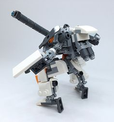 LEGO Robot Mk-4   Lego Mech !! More robot,weapon,mecha are o…   Flickr
