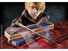 Bacchetta Magica Ron Weasley Harry Potter box Ollivander Wand Noble Collection - Vendilo Shop San Marino