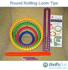 This guide is about round knitting loom tips. This kind of knitting requires no needles and a good start for beginners.