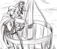 Life Needs Things To Live   Critical Role   Percy and Vex in the crow's nest