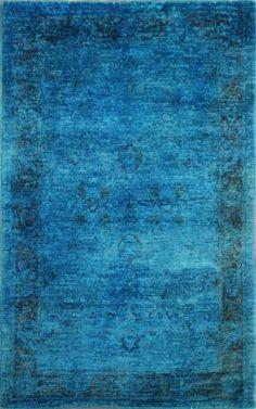 Mediha Bright Blue Rug