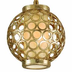 Bangle 1 Light Ball Pendant - Small by Corbett Lighting - http://www.lightopiaonline.com/bangle-1-light-ball-pendant.html