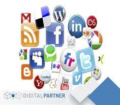 Hacemos que tu marca tenga mayor presencia en redes sociales. ¡Comunícate con nosotros y obtén más! #DigitalPartner