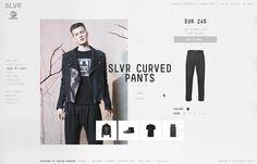 Adidas SLVR website