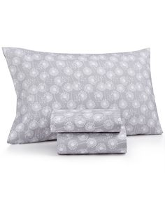 Printed Microfiber Twin Xl 3-Pc Sheet Set, Only at Macy's