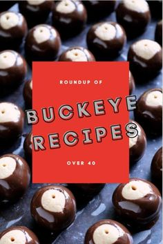 Prepare yourselves for all things buckeye! This buckeye recipe roundup includes over 40 different creations inspired by those delightful peanut butter and chocolate candies. #GoBucks #buckeyes #OhioState #PBchocSat Chocolate Candies, Chocolate Peanut Butter Cookies, Chocolate Bomb, Chocolate Heaven, Chocolate Chip Cookie Dough, Chocolate Desserts, Peanut Butter Buckeyes, Peanut Butter Granola, Peanut Butter Filling