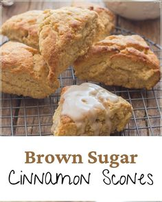 I think I could eat one of these scones every day, I love them, and the other person in the family who would stand by me and eat one too, now lives in Toronto. Best Pastry Recipe, Pastry Recipes, Breakfast Pastries, Sweet Pastries, Cinnamon Scones, Easy Delicious Recipes, Cut Out Cookies, Baked Apples