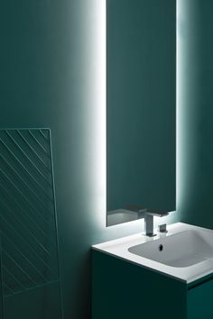 Blu Azteco Color  It is the symbol of serenity and balance.  . .  #arblu #bathroom #bathroomdesign #bathdesign #relax #color #bathdecor #arredobagno #home #madeinitaly #5zero #bathroomdetails