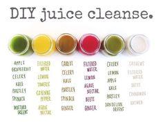 DIY Juice Cleanse