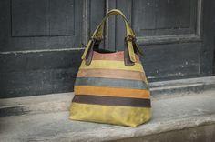 Brown cuir surdimensionné sac à la main par ladybu de LADYBUQ sur DaWanda.com