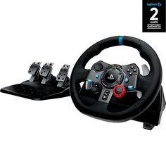 Volante Gamer G29 - PS4 PS3 e PC - Logitech << R$ 107099 >>