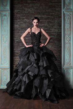 I fucking love these dresses. Rami Kadi Fall 2014 Collection. www.theweddingnotebook.com