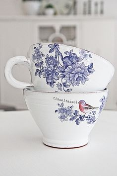 Anna ceramics Incredibly beautiful craft of the potter Anna Wrigstad Ostberg. Each cup is unique and has different birds and quotes. The cup ...
