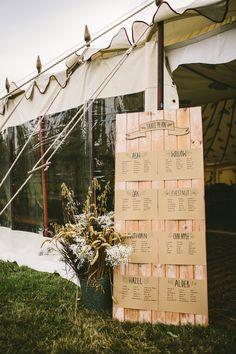 Nachhaltig 'grüne' Hochzeit mit rustikalem Flair | Hochzeitsblog The Little…