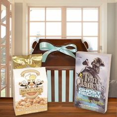 Book Lover's Care Package from All About Gifts and Baskets $30