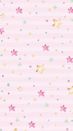 So cute Wallpaper Hello Kitty Wallpaper, Kawaii Wallpaper, Pastel Wallpaper, Cute Wallpaper Backgrounds, Pretty Wallpapers, Nature Iphone Wallpaper, Star Wallpaper, Love Wallpaper, Screen Wallpaper