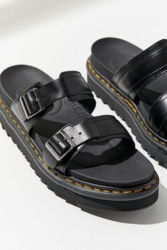 Martens Myles Sandal at Urban Outfitters today. We carry all the latest styles, colors and brands for you to choose from right here. Timberland Style, Timberland Boots, Timberland Fashion, Cowboy Boots Women, Cowgirl Boots, Western Boots, Doc Martens Boots, Summer Slippers, Fashionable Snow Boots